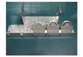 Motor End Bracket Assembly 3 Pulley - Deck Right