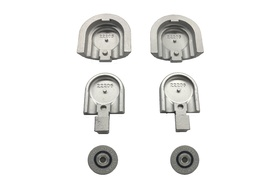 Top-Track End Cap Pulley Assembly (Set of 2)